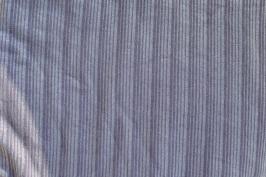 Jersey aubergine silberne Streifen