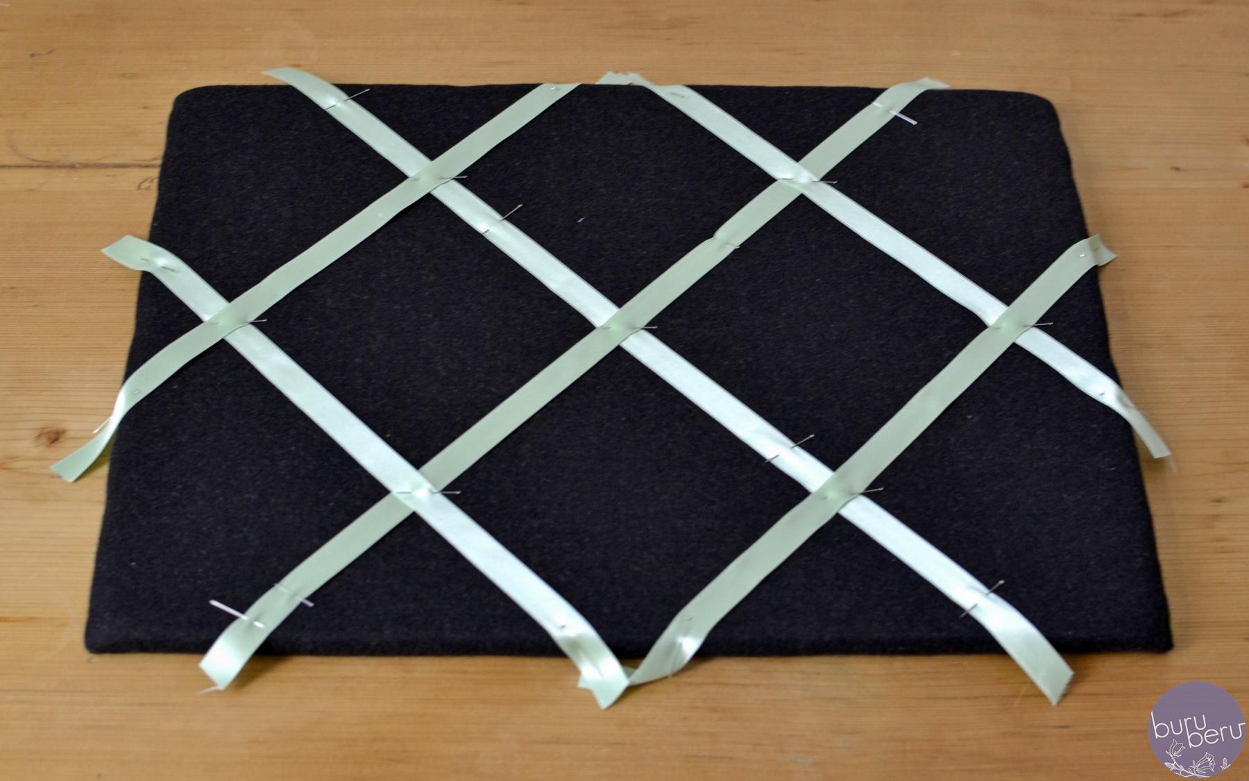faszinierend pinnwand selber machen stoff ebenbild erindzain. Black Bedroom Furniture Sets. Home Design Ideas