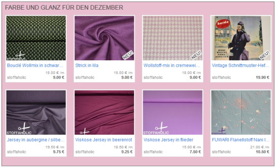 stoffe, dezember, schnittmuster, stoffaholic, online-shop